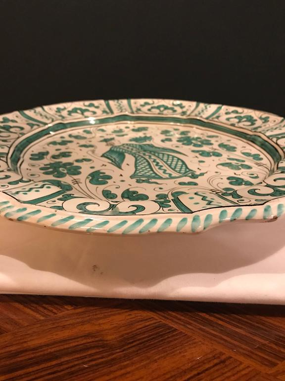 Italian Paint Decorated Platter For Sale 3