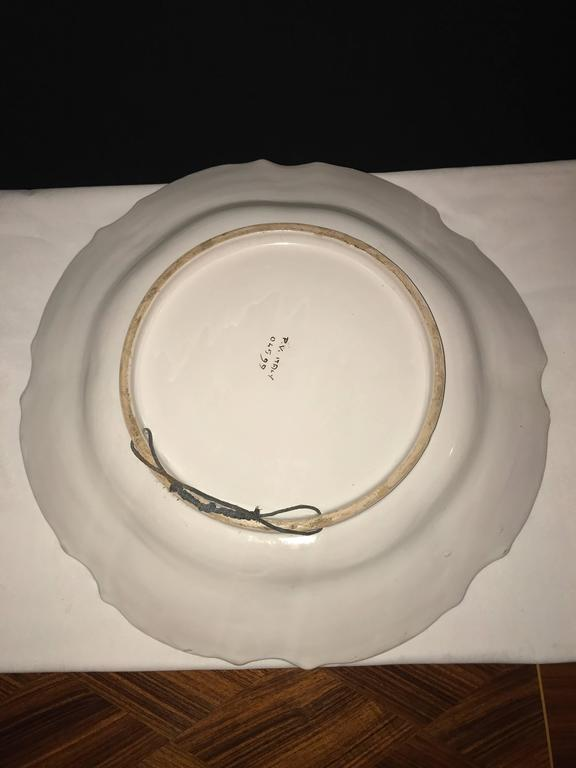 Italian Paint Decorated Platter For Sale 5