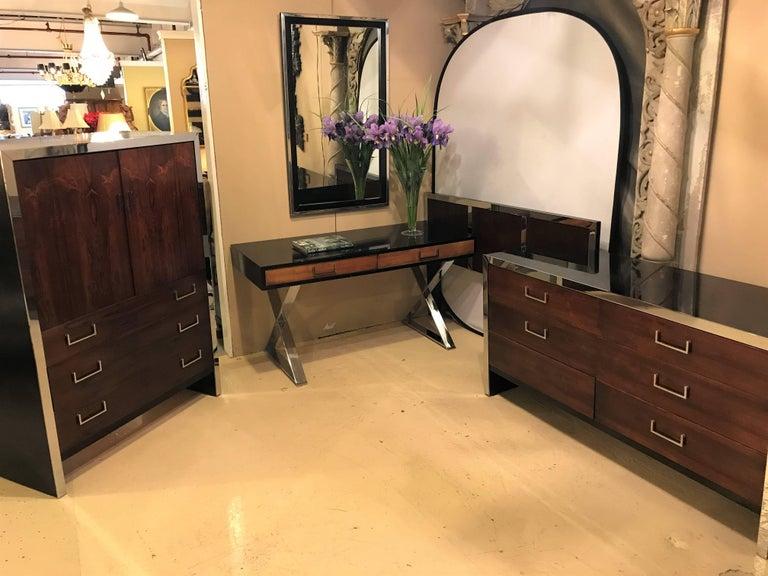 Milo Baughman For W. J. Sloane Bedroom Set Vanity, Dresser