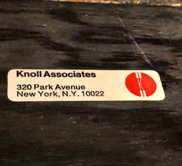 Pair of signed custom florence knoll and associates chests for Knoll and associates