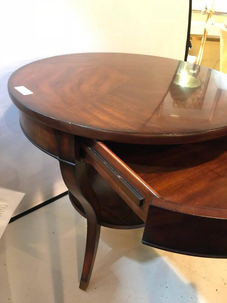 Noble Estate Ralph Lauren Bedside Lamp Table At 1stdibs
