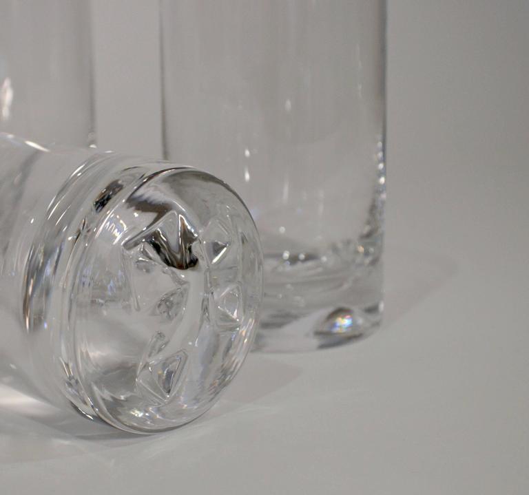 "Tapio Wirkkala ""Icebreaker"" Glassware for Iittala, circa 1960s 5"