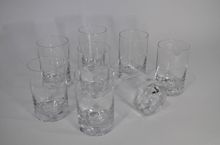 "Tapio Wirkkala ""Icebreaker"" Glassware for Iittala, circa 1960s 4"