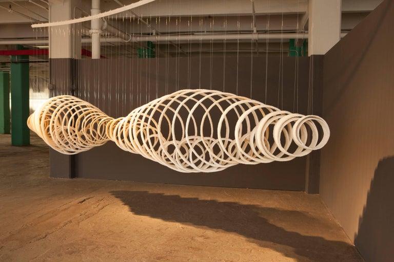 American Joanna Poag Ceramic Lemniscate Sculpture, 2013 For Sale