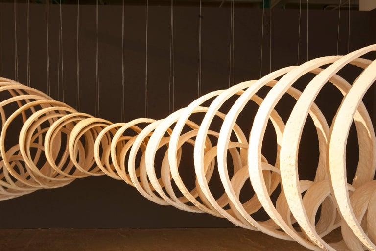 Contemporary Joanna Poag Ceramic Lemniscate Sculpture, 2013 For Sale