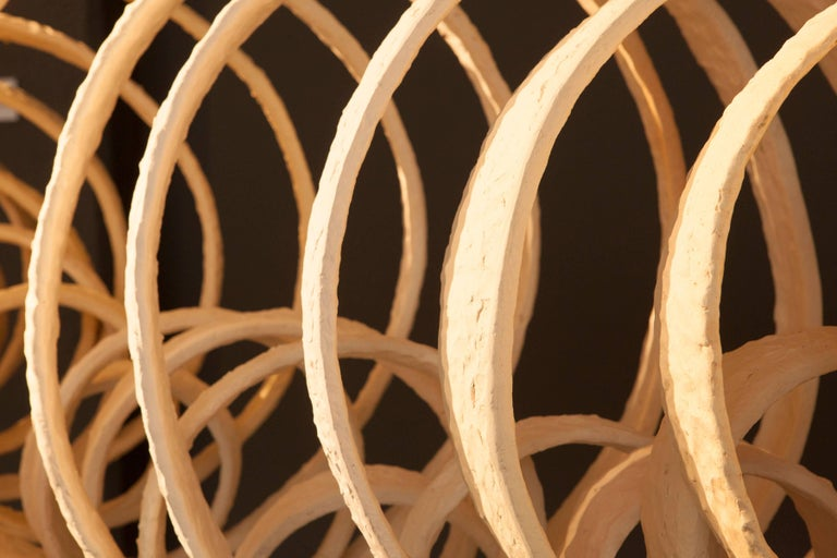 Joanna Poag Ceramic Lemniscate Sculpture, 2013 For Sale 3