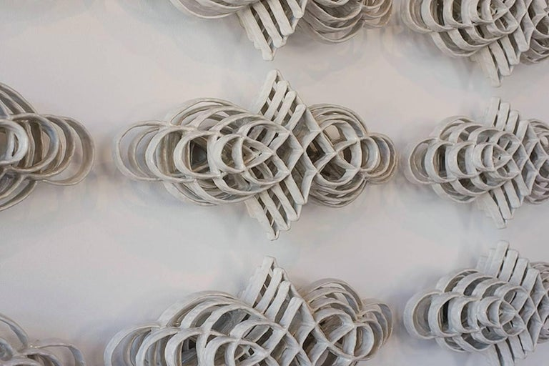Collection of 12 Joanna Poag Flourish Wall Sculptures, 2015 3