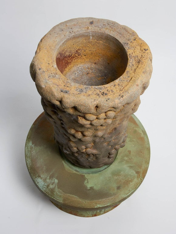 Contemporary Richard Hirsch Ceramic Mortar and Pestle, 2007 For Sale