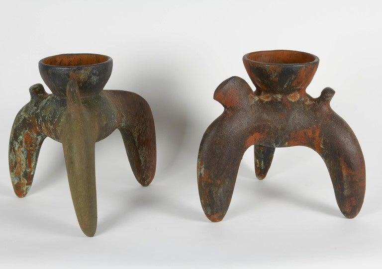 Richard Hirsch Ceramic Ceremonial Vessels, Tripod Vessels Collection, 1994 7