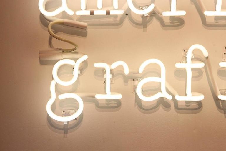 "Peter Buchman ""American Graffiti"" Neon, 2015 6"
