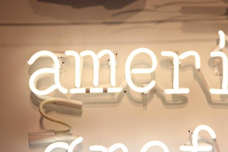"Peter Buchman ""American Graffiti"" Neon, 2015 5"
