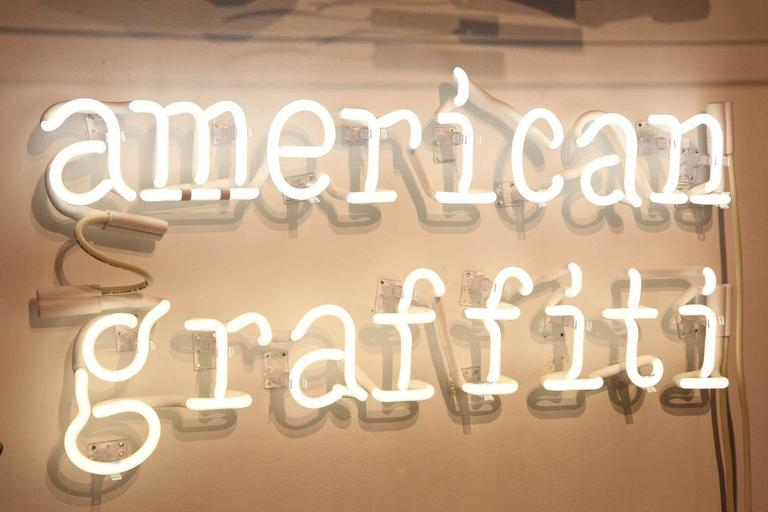 "Peter Buchman ""American Graffiti"" Neon, 2015 4"