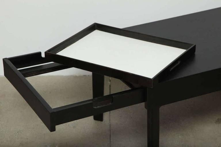 American George Nelson Ebonized Coffee Table by Herman Miller, circa 1950s For Sale