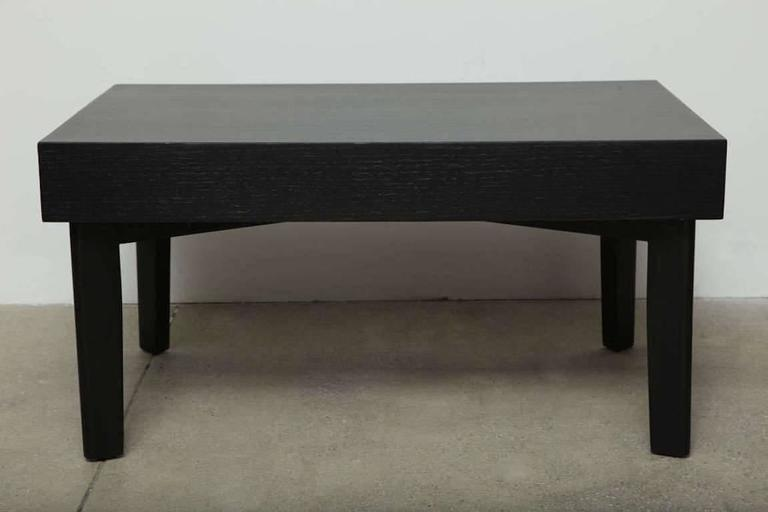 George Nelson Ebonized Coffee Table by Herman Miller, circa 1950s 2