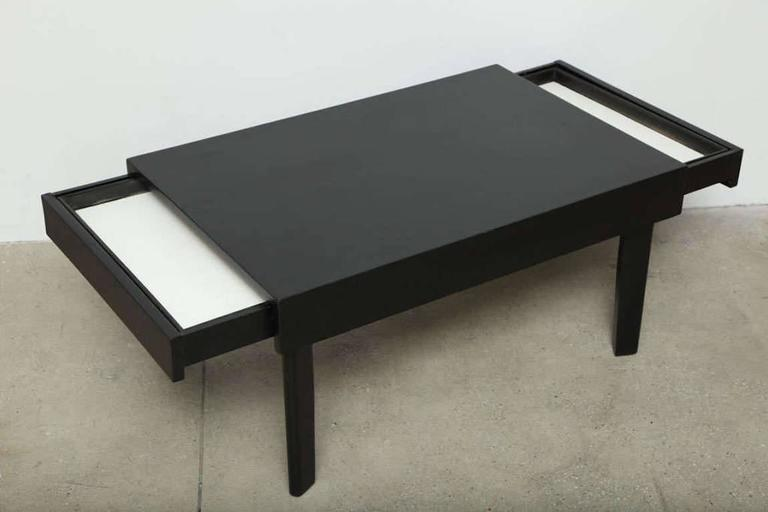 George Nelson Ebonized Coffee Table By Herman Miller, Circa 1950s 3