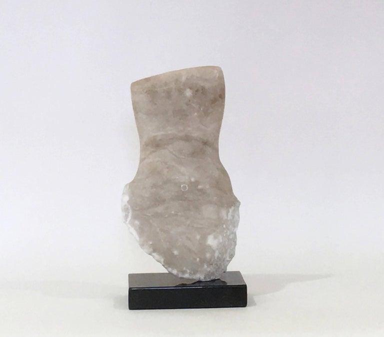 Modern Wendy Hendelman Alabaster Torso Sculpture, 2014 For Sale