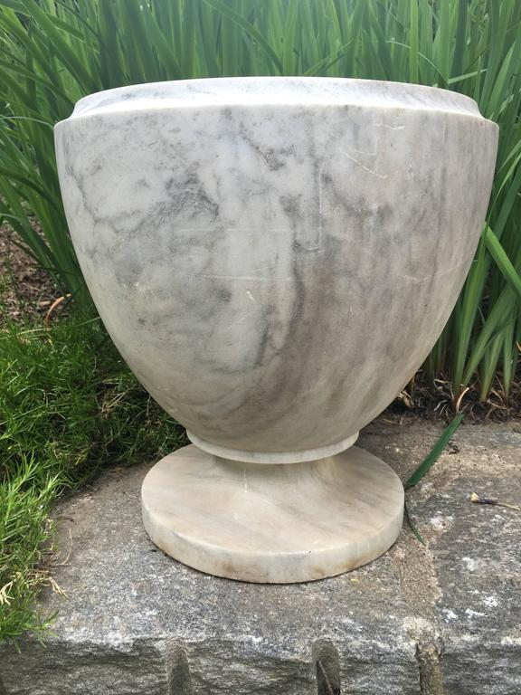 19th Century Italian Egg Shaped Marble Urn At 1stdibs