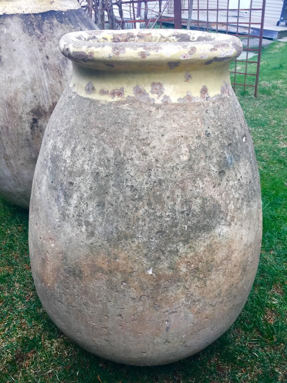 Hand-Crafted Very Large French 18th Century Terracotta Biot Pot For Sale