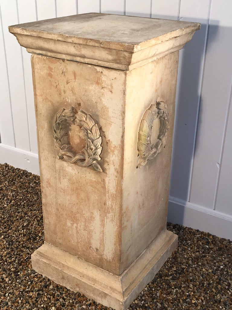 19th Century Hand-Carved Limestone Statue of Children For Sale 2