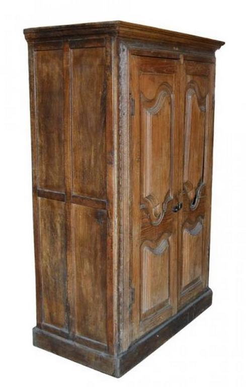 Delicieux A 19th Century Tall Rustic Cabinet With Carved Doors Made In India. This Tall  Cabinet