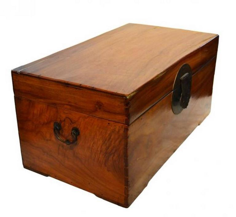Chinese camphor wood blanket chest at stdibs