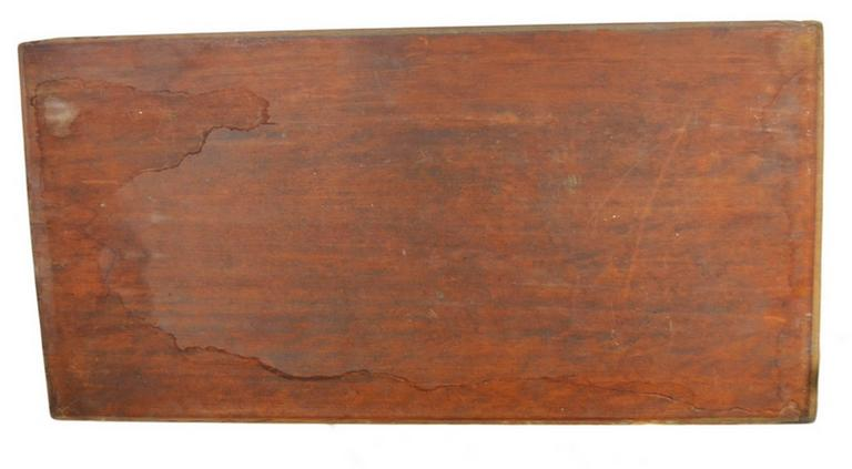 Antique Chinese Hand-Carved Rosewood Lacquered Wooden Wall Plaque For Sale 3
