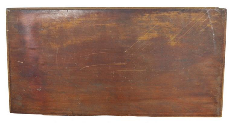 Antique Hand-Carved Lacquered Rosewood Wall Plaque from China, 19th Century For Sale 3