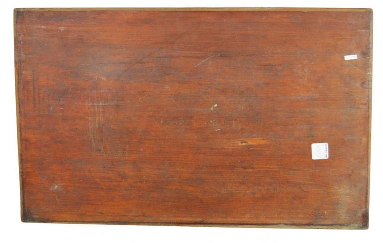 Antique Hand-Carved Lacquered Rosewood Wall Plaque from 19th Century, China For Sale 2