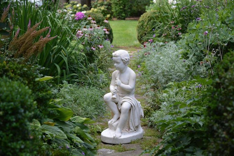 Carved Marble Statue of a Youth For Sale 1