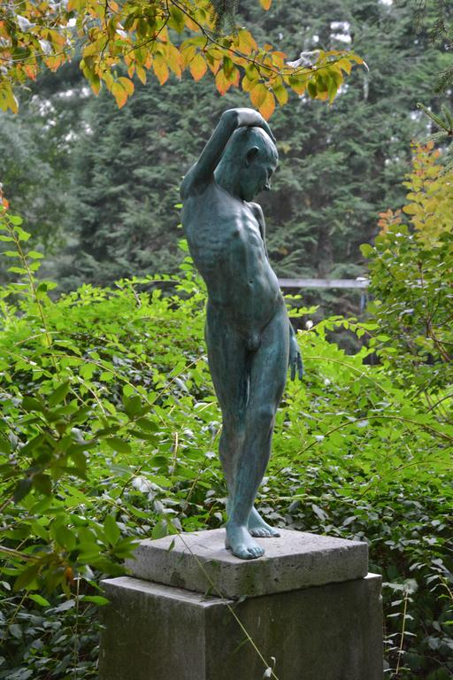 Bronze Figure of a Youth 2