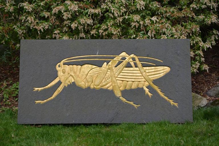 Grasshopper Plaque 4