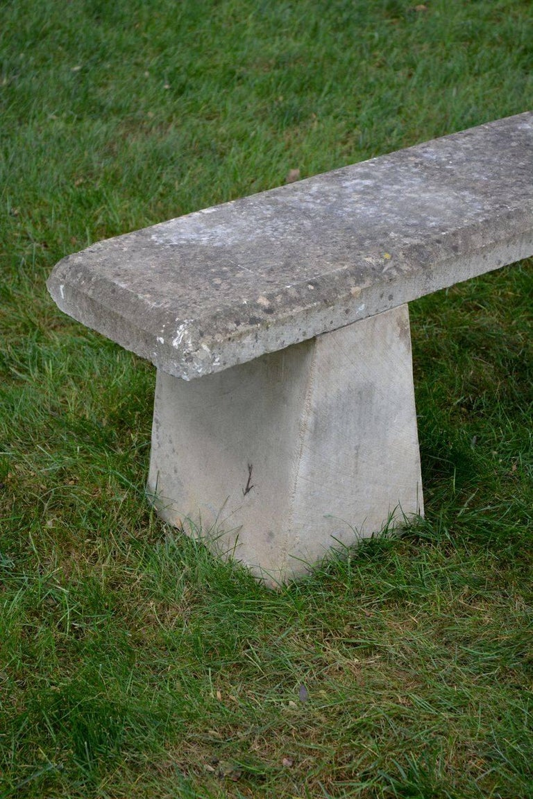 English Stone Bench For Sale 3