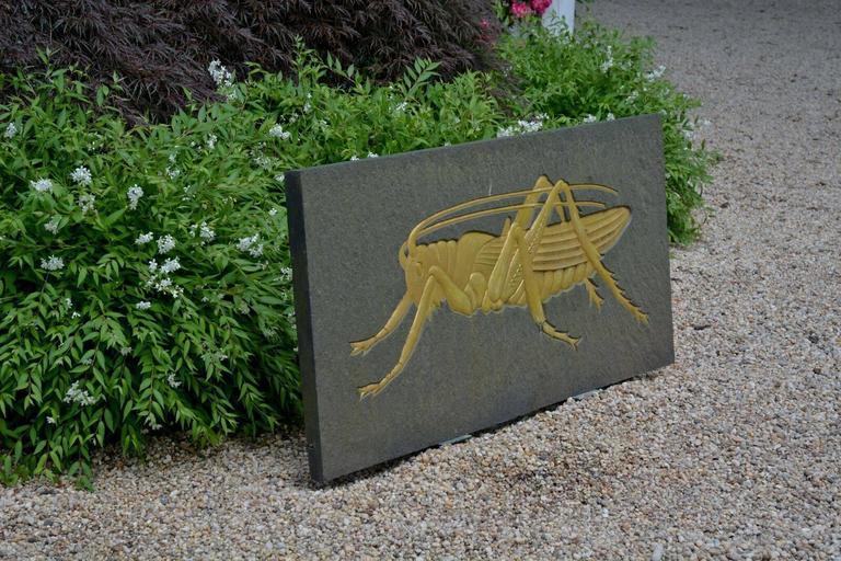 Grasshopper Plaque 3