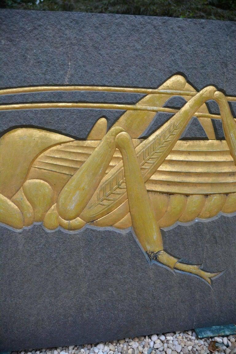 Grasshopper Plaque 6