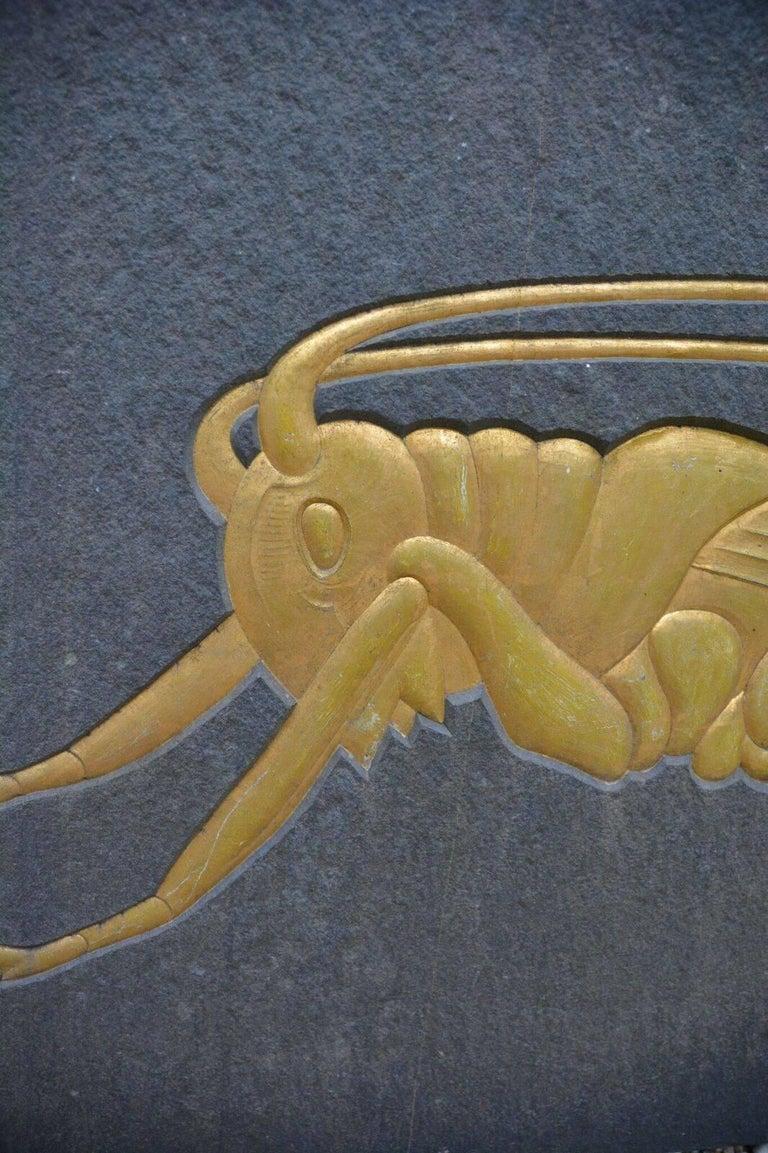 Grasshopper Plaque 5