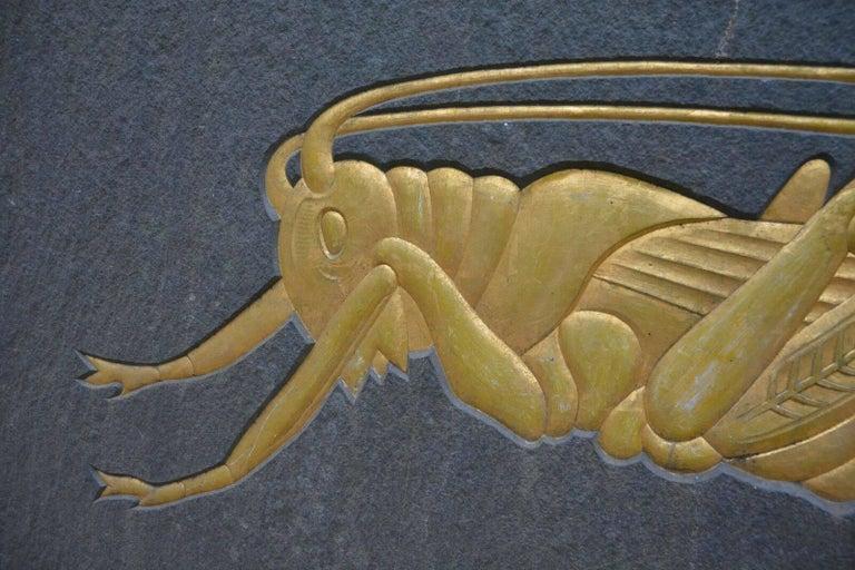 Grasshopper Plaque 8