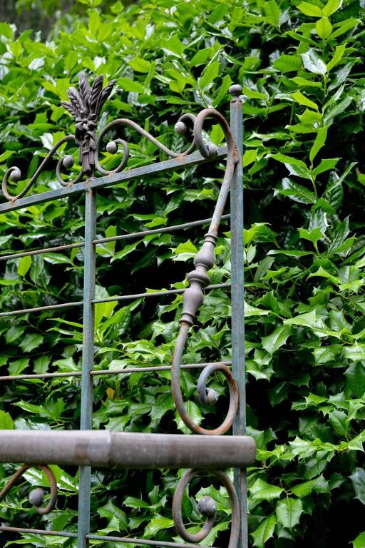 Wrought Iron and Brass Baker's Rack 8