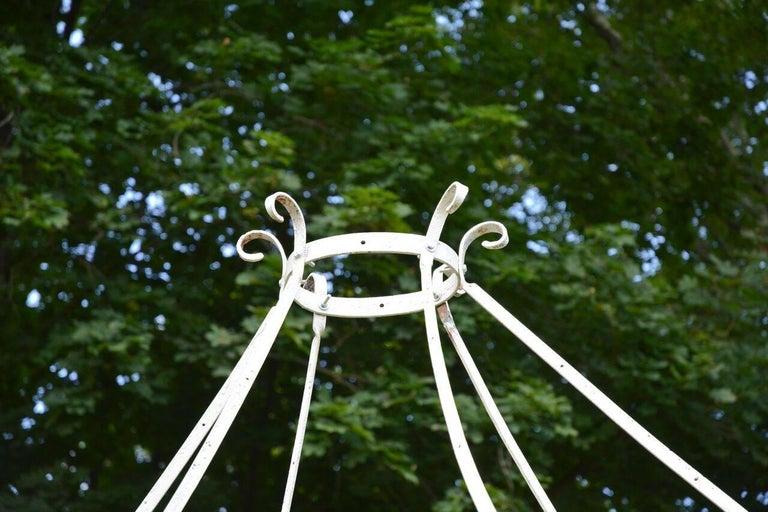 Wrought-Iron Gazebo For Sale 2