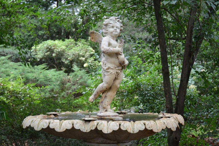 French Figural Fountain 2