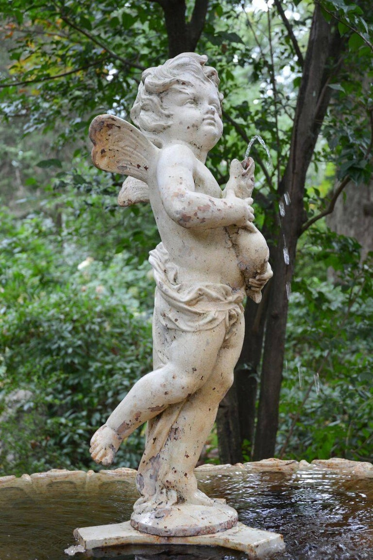 French Figural Fountain 3