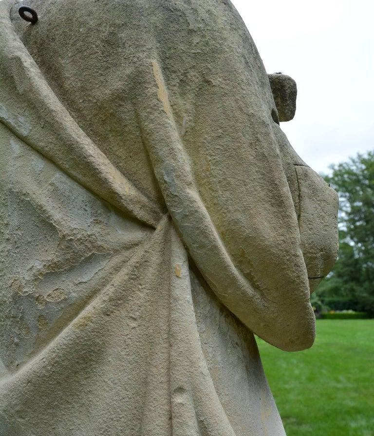 English Limestone Statue of St. Joseph For Sale 1