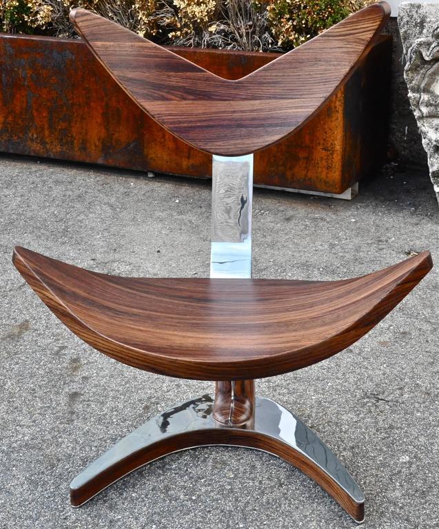 Modern classical chair by Artist Bruno Helgen.
