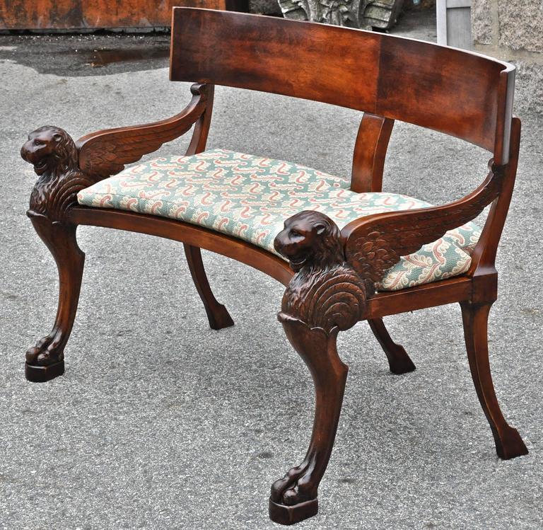 Buztic com one fifth klismos bench ~ Design Inspiration für die neueste Wohnkultur