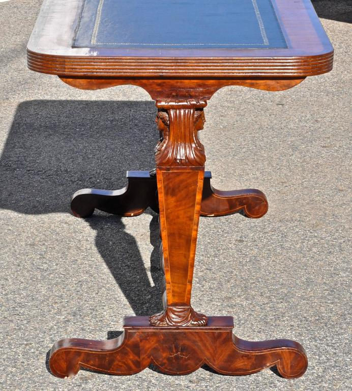 Neoclassical Period English Regency Desk or Sofa Table in Style of Thomas Hope For Sale