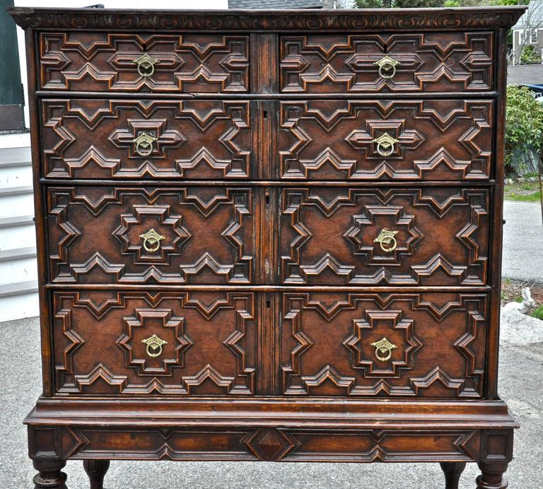 Jacobean Chest on Stand, 18th Century and Later 3