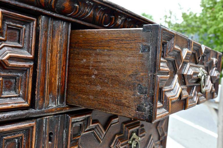 Jacobean Chest on Stand, 18th Century and Later 6