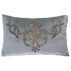 Antique Textile Pillow by B.Viz Designs