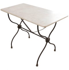 French 19th Century Bistro Table