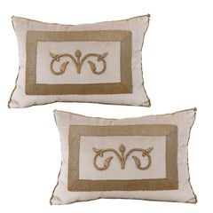 Antique Textile Pillows by B.Viz Design