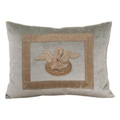 Antique Textile Pillow by B.Viz Design